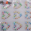 Cheap Price China Team Various Colors Rhinestone Letters Stickers