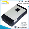 2400W 24VDC-220VAC Solar Hybrid Inverter with 50A-MPPT Solar Controller Mps-3kVA