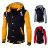 New Wholesale Full Zipper Men Hoodies with Printing