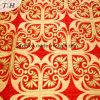 2017 Bright Red Jacquard High-Grade Sofa Cloth (FTH31615)