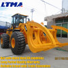 Hot Sale 8-25 Ton Wood Grapple Log Wheel Loader in Gabon