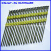 Electro Galvanized Plastic Strip Iron Nail 2.90*75mm