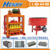 Qtj4-40 Manual Concrete Paver Making Machine