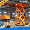 Ce Hydraulic Stationary Scissor Cargo Lift Table