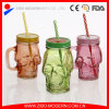 Wholesale Clear Glass Skull Mason Jars