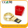 Ept Golden Metal Ring Style USB Flash Drive (ED 610)