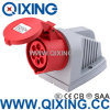 Industrial 7p Socket for Wall Mounted (QX-734)