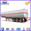 3 Axis 50000 Liters Carbon Steel Fuel Tank Semi Trailer with 4 Silo