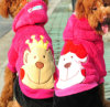 Pet Clothes - Face Printed Fleece Dog Clothes