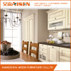 Natural Solid Wood Kitchen Cabinet Wooden Cupboard