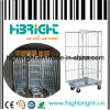 Warehouse Storage Mesh Roll Cage Container (HBE-RC-3)