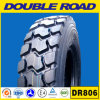 Import Doubleroad (1000r20 1200r20 1200r24) Truck Tyre with DOT Gcc ECE Soncap, TBR Tube Tyre