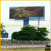 Roadsize Advertising Large Size Tri-Vision Billboard by Pole