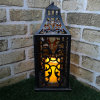 Vintage Metal LED Candle Lantern/Iron Candle Light