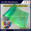 Chameleon Green Car Light Vinyl Sticker Chameleon Car Headlight Tint Vinyl Films Car Lamp Film