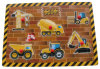 Wooden Puzzle Vehicles Peg Puzzle (34241)