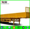 China 3 Axle Fence Cargo Truck Trailer Side Wall Cargo Box Semi-Trailer