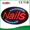 LED Nails Sign High Brightness Epoxy Resin Nails LED Open Sign