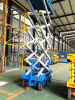 Aerial Manual Hydraulic Mobile Scissor Lift Table Eectric Man Lift Platform