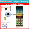 Airport Shopping Mall Digital Signage LCD Display Multi Cell Phone Free Charging Kiosk