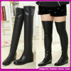 New Style Flat Boots for Lady Genuine Leather Leather Women Over The Knee Boots
