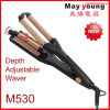 M530 Factory Supply Depth Adjustable Waver Hair Curler