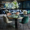 Modern Metal Cafe Restaurant Furniture for Table and Chair Sets