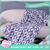 Travel Cushion Warm Cover Purple Soft Leg Airline Blanket
