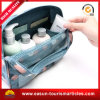 Wholesale Designer Canvas and Plastic Cosmetic Bag with Logo