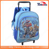 New Series Style Interlayer Rolling Trolley School Bag with Wheels