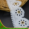 100% Cotton High Quality Embroidery Lace (HSS-1705)