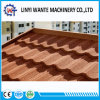 Aluminum-Zinc Steel Sheet Roofing Materials Stone Coated Metal Roof Tile Bond Type