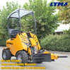 Chinese 4WD Utility Garden Small Wheel Loader for Sale