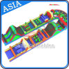 U Shape Obstacle Course Inflatable, Mega Inflatable Obstacle Run
