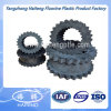 Black Color Rubber Gear Coupling Rubber Gear Sleeve Made with Virgin Csm and SBR