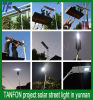 50W LED Solar Street Light One Design CE RoHS Certificate