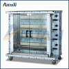 Kj4 4 Burners Vertical Large Capacity Gas Rotisseries for Restaurant