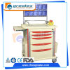Hospital ABS Anesthesia Veterinary Clinic Equipment Trolley (GT-Q203)