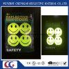 Fluorescent Smile Face Flashing Light Sticker