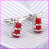 Lovely Fire Extinguisher Sharp Men′s Shirt Cufflinks Gemelos