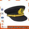 Fleece Vintage Officer Peak Cap of Wool