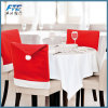 Christmas Chair Covers Santa Clause Red Hat for Christmas Decora