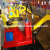 Popular Children Playground Equipment Kids Excavator with 90 Degree Rotation