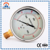 Liquid Filled 2 Inch Oil Pressure Gauge Cheap Oil Filled Air Pressure Gauge