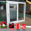 PVC Vinyl Dark Grey Tinted Impact Glass Sliding Windows
