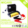 Li-Polymer Battery Portable Mini Car Jump Starter with Air Compressor