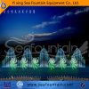Outdoor Large Lake Multimedia Music Fountain with Water Screen Movie
