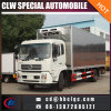 China 10t Aluminum Allpy Carrier Refrigeration Unit Truck Freezer Truck Body