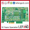 1.60mm 12layers Chemical Enig+ Gold Finger Impedance Circuit Board PCB
