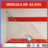 Irregular Shaped Clear Glass / Ultra Clear Glass for Architectural/Car/Electronic